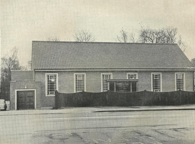 All purpose Hall, 1957